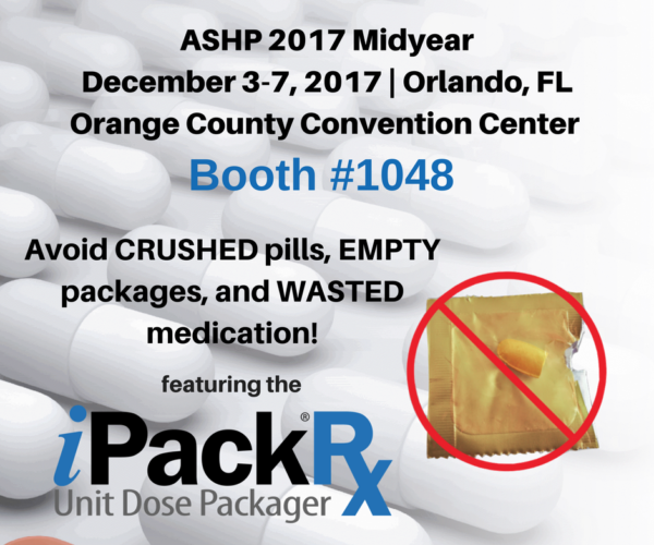 Avoid CRUSHED pills, EMPTY packages, and WASTED medication!